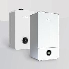 Пакет Condens 7000i W + стандартен комин бяла версия